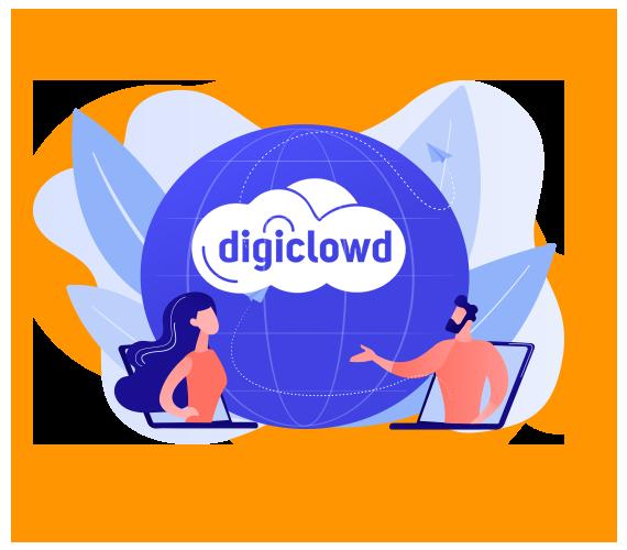 A Digiclowd chegou para ser a sua plataforma oficial de eventos digitais